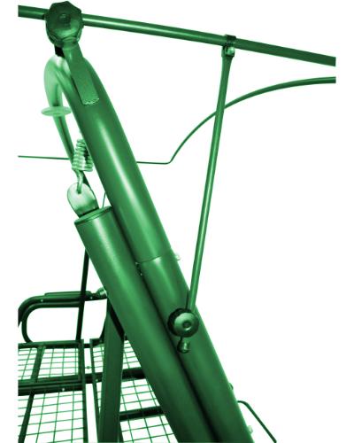 Эдем 76 зеленый тентодержатель