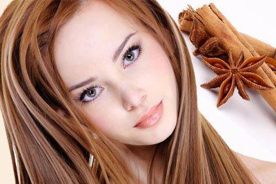 Осветление волос при помощи корицы