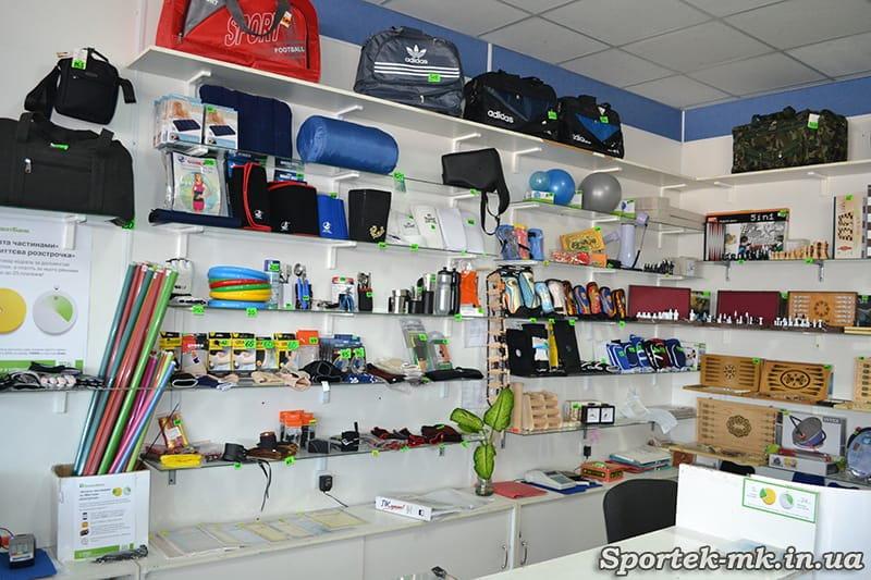 """Разные спортивные товары в магазине """"Дом Спорта"""" в Николаеве"""