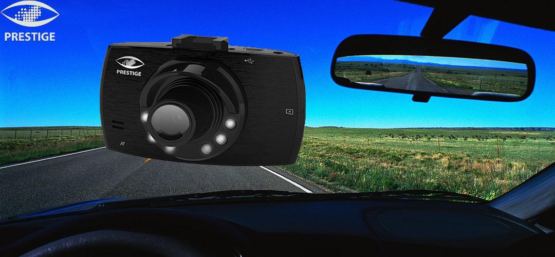 Видеорегистратор Prestige AV-520 с 2 камерами