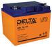 Герметичный свинцово-кислотный аккумулятор Delta HRL 12-45