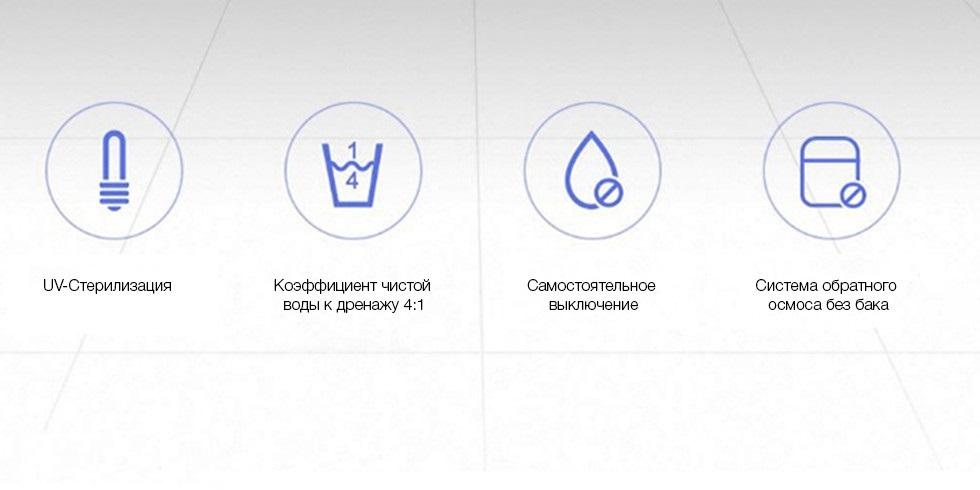 Очиститель воды Xiaomi Viomi Water Purifier V1 Standart характеристики