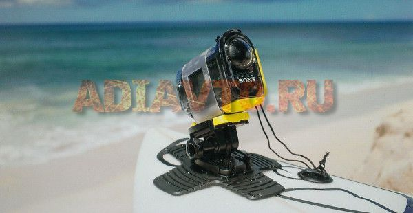 экшн камера sony hdr as20