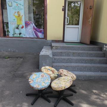 """Новые детские стулья к школьному дню Проект """"Танцующий Стул"""" готовит облегченную модель для школьников"""