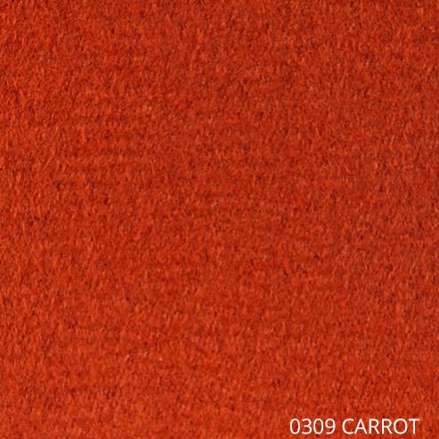ткань АНТАРА - морковный цвет