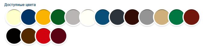 Хаммерайт цветовая палитра