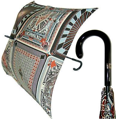 Jean Paul Gaultier квадратный зонт-трость