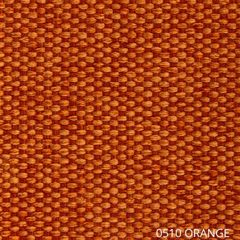 ткань АЗУР - оранжевый цвет