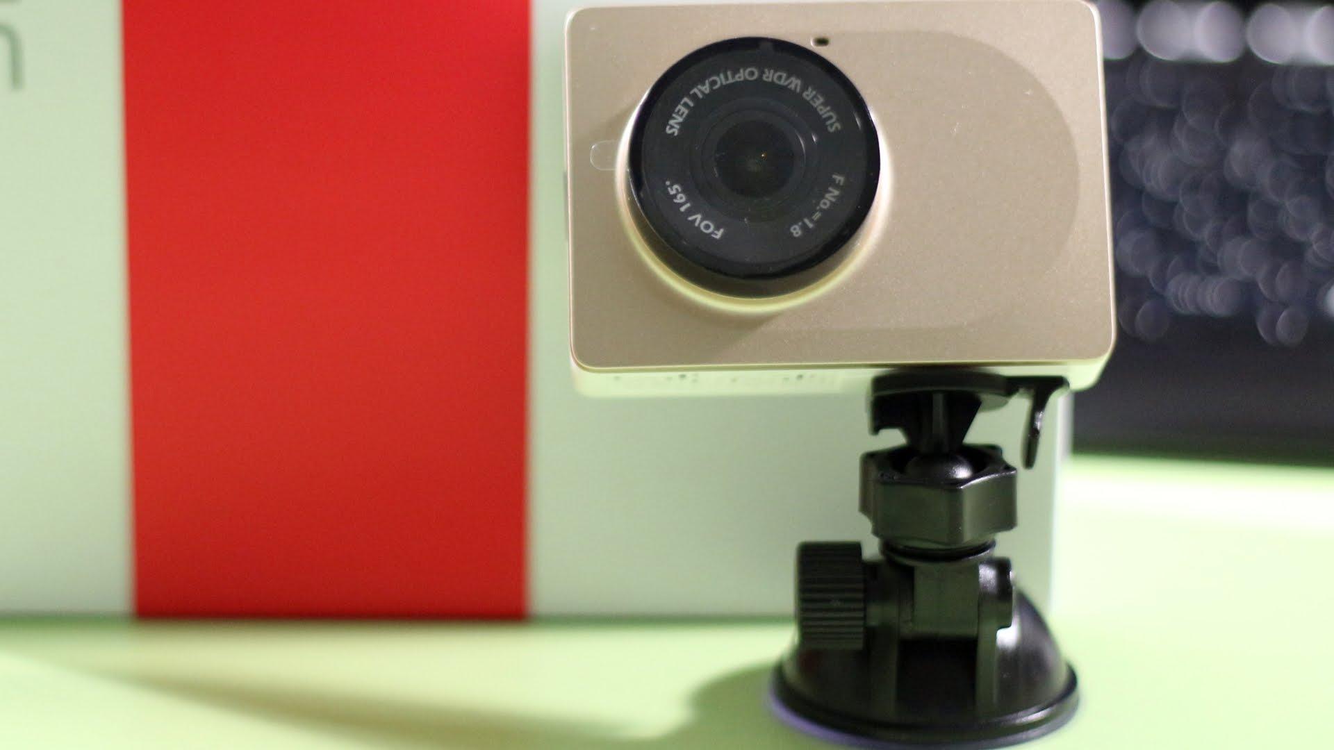 Видеорегистратор Xiaomi: дизайн и функционал
