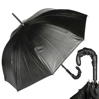 Кожаный зонт-трость Жан Поль Гатье