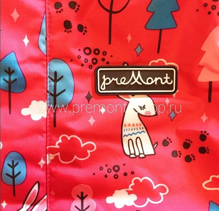 Демисезонный комбинезон Premont Маленький Нуттала для девочек S18103