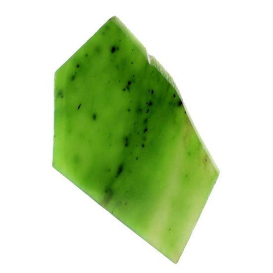 Образец зелёного нефрита