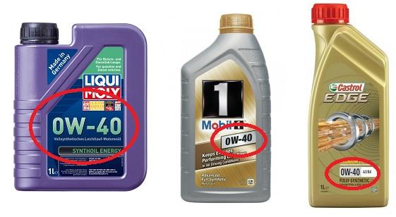 0w40oilcar - Чем отличается масло 5w40 от 0w40
