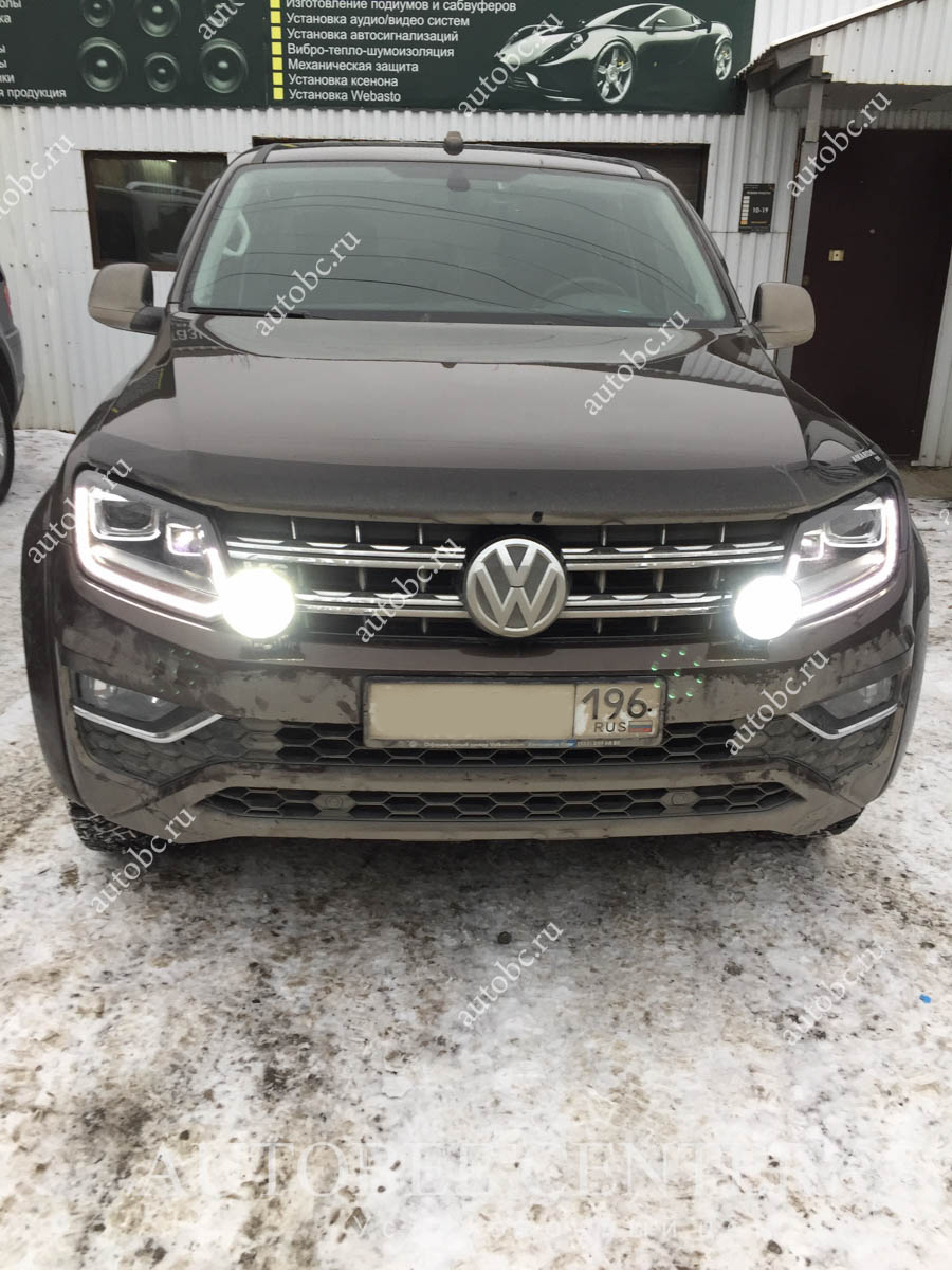 VW Amarok (Нештатные туманки)