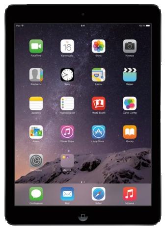 В подарок планшет Apple iPad Air 16Gb Wi-Fi Gray MD785
