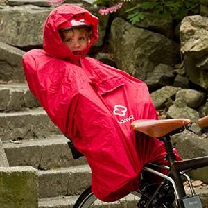 Дождевик для ребенка на велокресле
