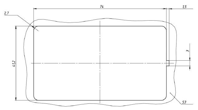 Место установки блока переключателей АВАР 358.3769