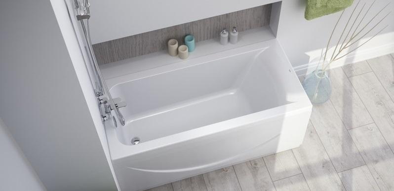Прямоугольная акриловая ванна Iddis EDI1670i91