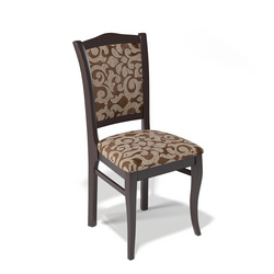 Деревянный стул Kenner 111С, цвет - венге/шоколад