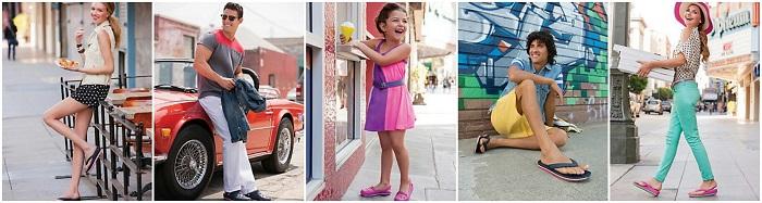 Обувь Crocs женская, мужская и детская