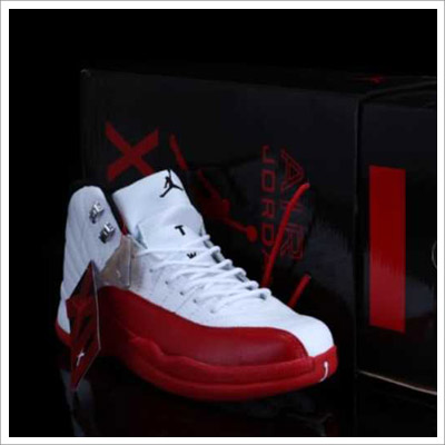 Air Jordan XII  Men's Retro Red/White