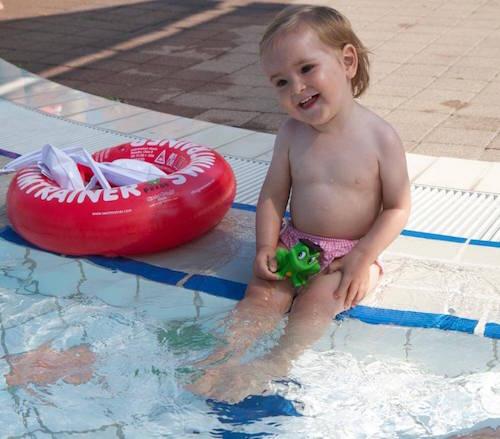 Swimtrainer круг для детей красного цвета