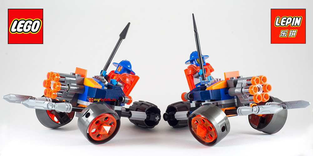 LEGO Nexo Knights 70347 Lepin 14025 Next Cavaliers