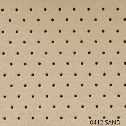 перфорированная экокожа - песочный цвет