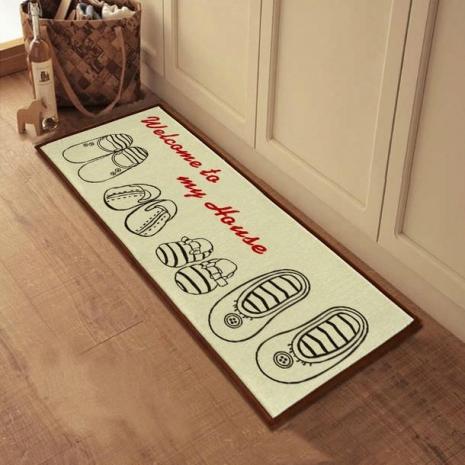 Красивые придверные коврики икеа