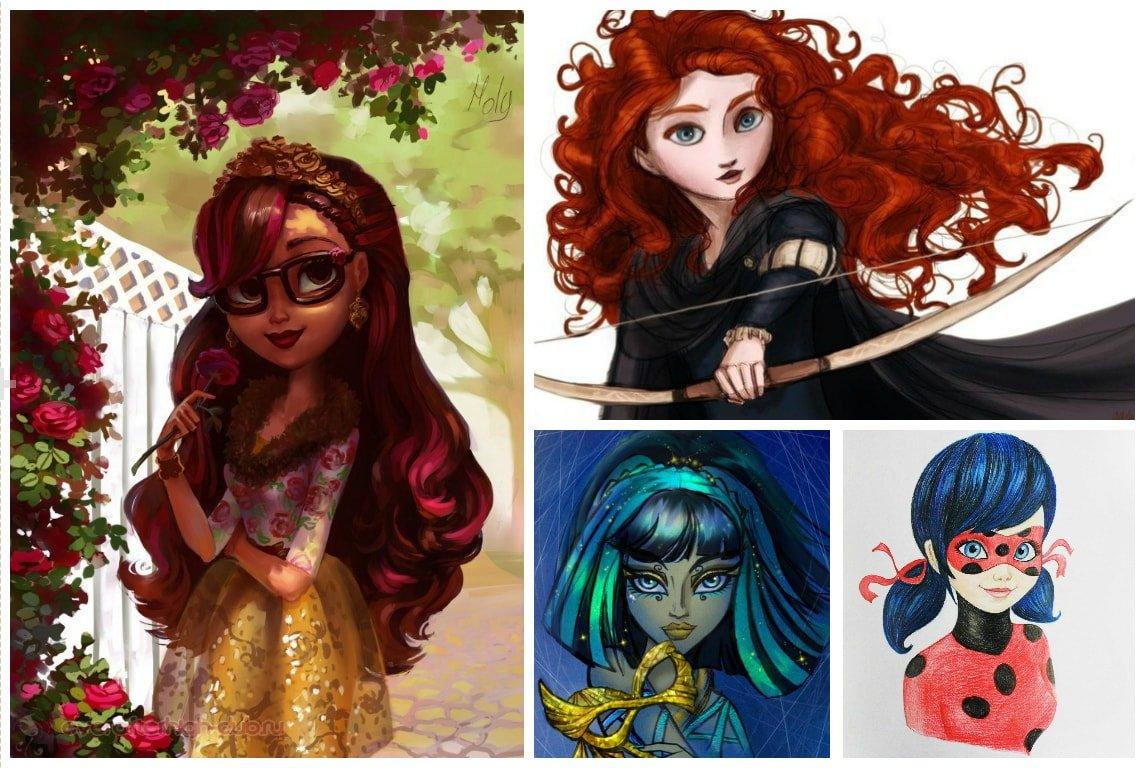 Конкурс рисунков Магия кукол