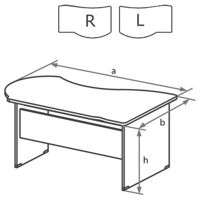 Схема стола DK
