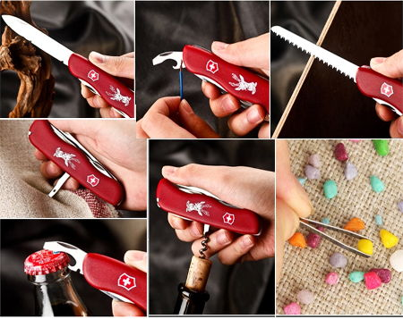 инструменты Victorinox Hunter Red 0.8873