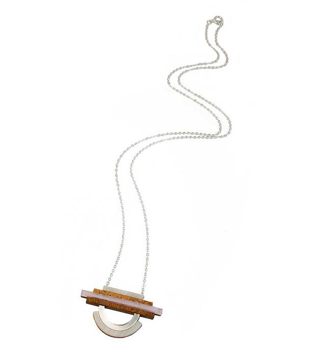 стильная подвеска ручной работы Fjord Pendant Lavender от Wolf&Moon