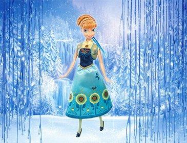 Кукла Анна из серии День рождения - Холодное Сердце