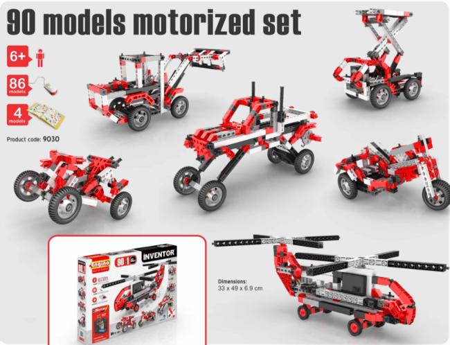 Engino Набор 90 Моделей с Моторами