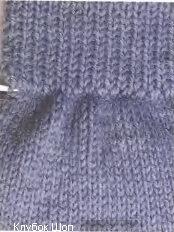 Как удлинить вязаный рукав
