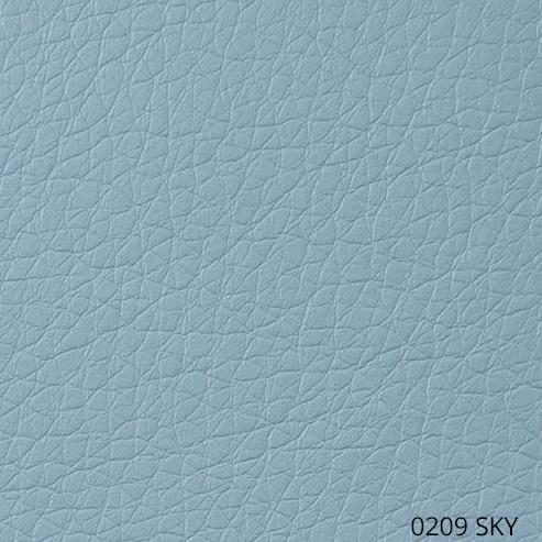 экокожа - светло-синий цвет