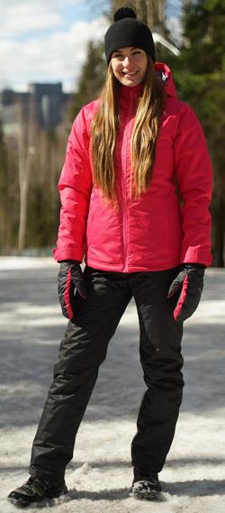 NSW431733 Утеплённая прогулочная лыжная куртка Nordski Motion Purple женская