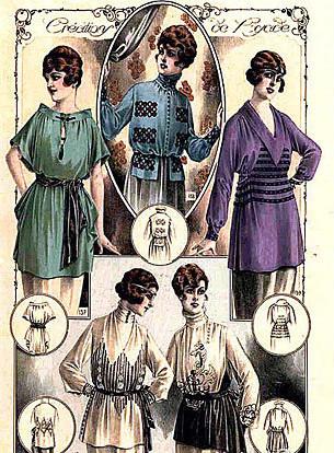 b19f1fc2a31 А уже в 1911 году Поль Пуаре создал первую в истории европейской моды  коллекцию со славянскими мотивами. Коллекция была названа