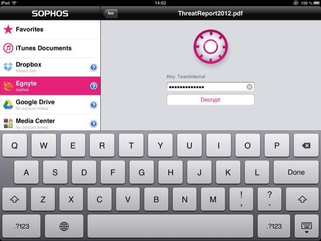 SafeGuard for iOS