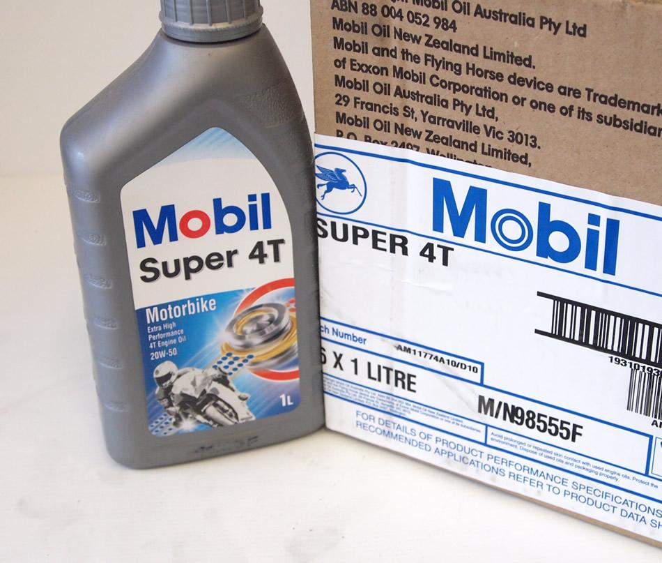 Мотоциклетное масло для 4-х тактных двигателей Мобил 1
