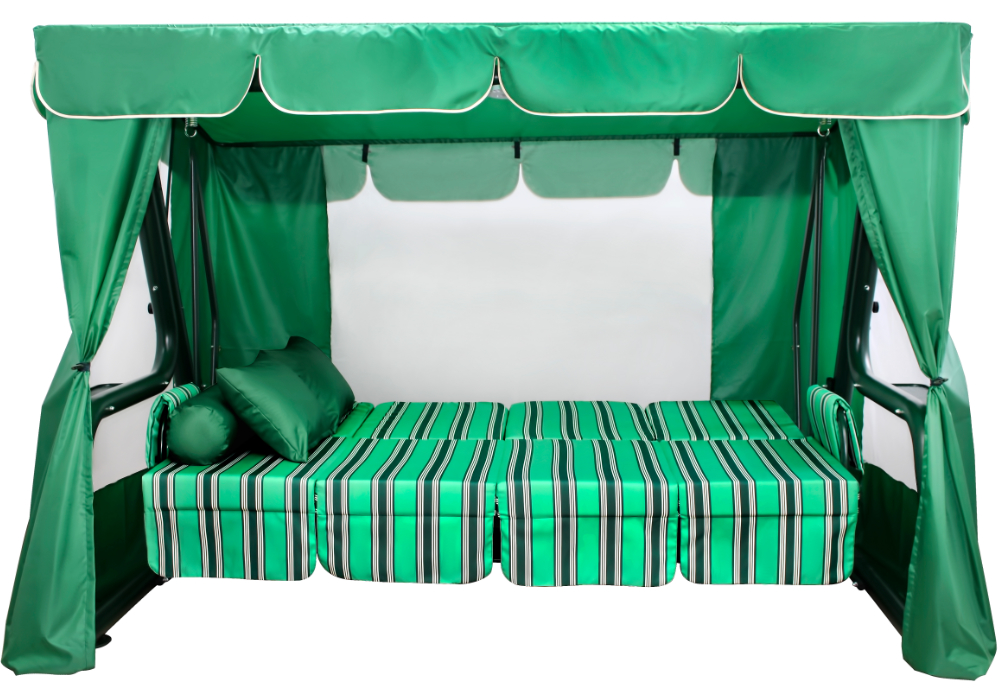 Эдем зеленый кровать