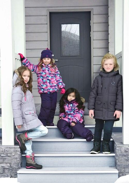 Зимний комплект Premont Северное сияние Юкона для девочек из коллекции Premont Зима 2018-2019