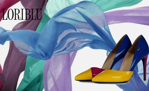 итальянская женская обувь и палантин
