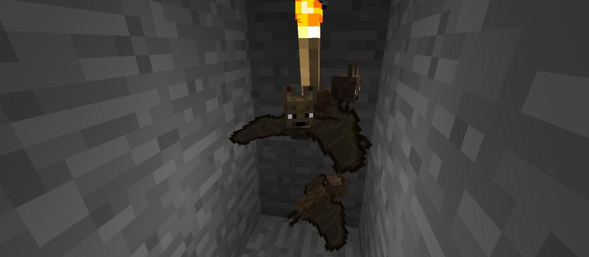 Летучая мышь в Майнкрафте