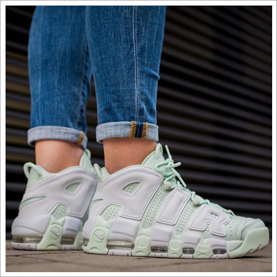 Nike Women`s Air More Uptempo White