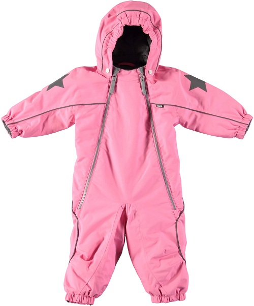 Комбинезон Molo Pyxis Total Pink для девочек (Зима 2018-2019)