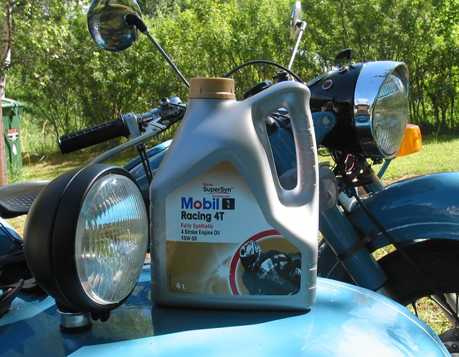 Масло для мотоцикла Мобил1