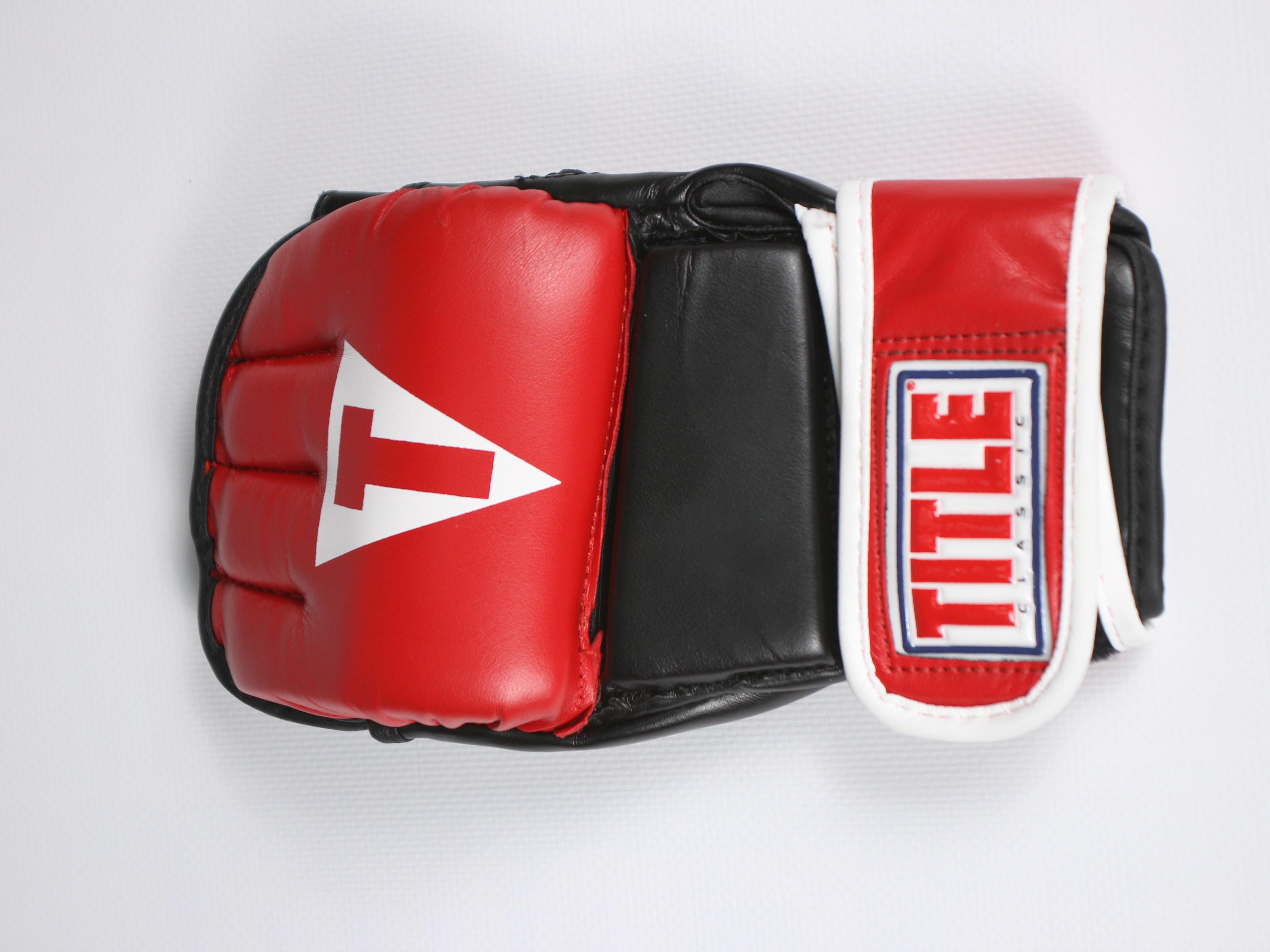 e9c2dfe77e1 ПЕРЧАТКИ MMA TITLE CLASSIC WRISTWRAP HEAVY BAG GLOVES