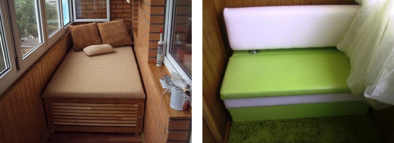 диван на балкон купить